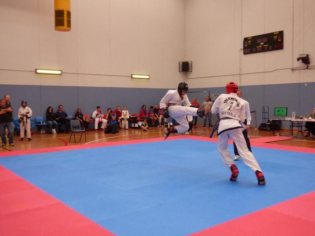 AFTA tournament sparring