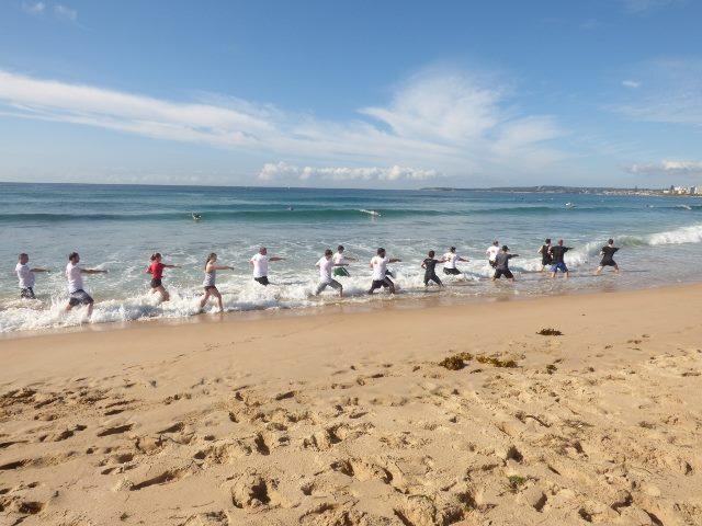 Photo Gallery Beach training